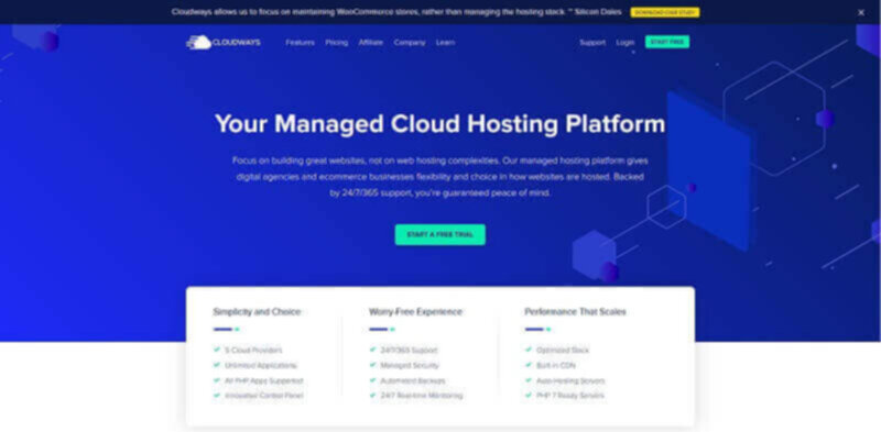 CloudWays best managed cloud hosting service