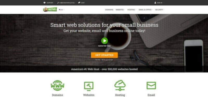 HostPapa affordable shared hosting