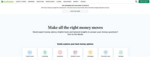 Blog example NerdWallet