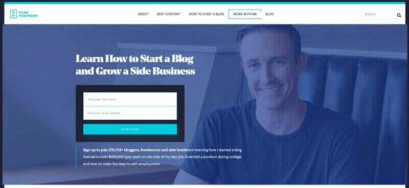 Ryan Robbinson highest paid blogger