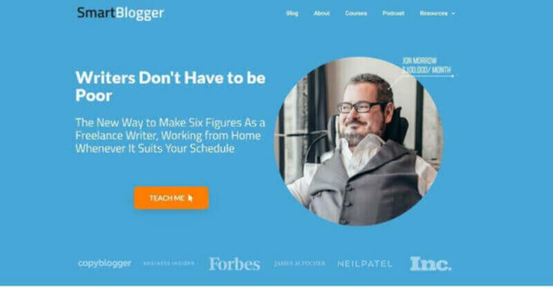 Jon Morrow highest paid blogger