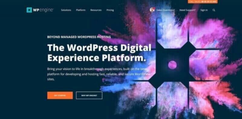 WP Engine Fast WordPress Hosting