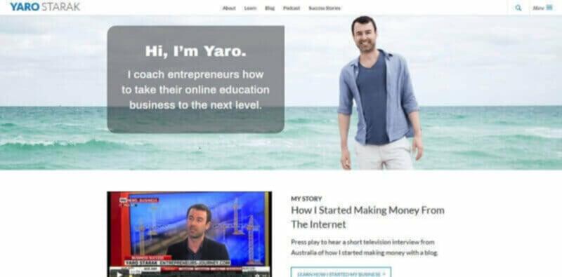 Yaro Starak highest paid blogger
