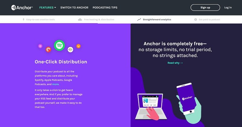 Anchor.fm - One-Click Distribution