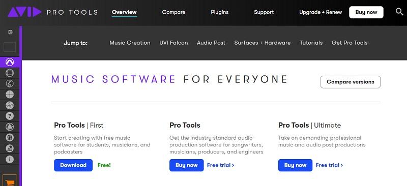 Avid Pro Tools Podcast Editing Software