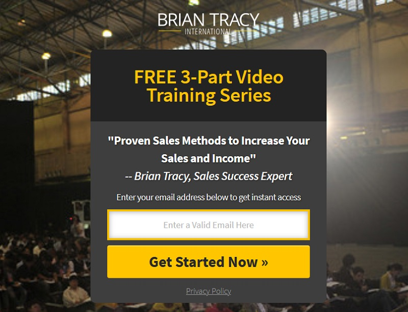 Brian Tracy - Free 3-part video training series