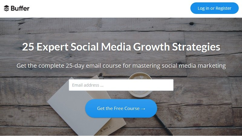 Buffer - 25-day email course