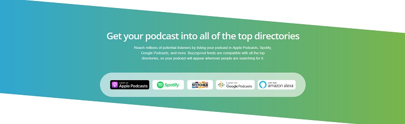 Buzzsprout - Get your podcast into all of the top directories