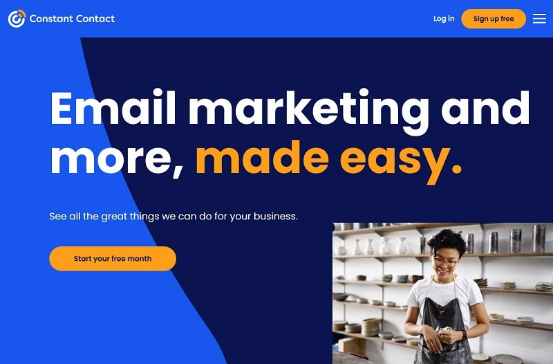 Constant Contact - email marketing software