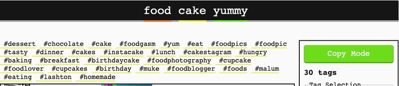 Display Purpose - Food Cake Yammy