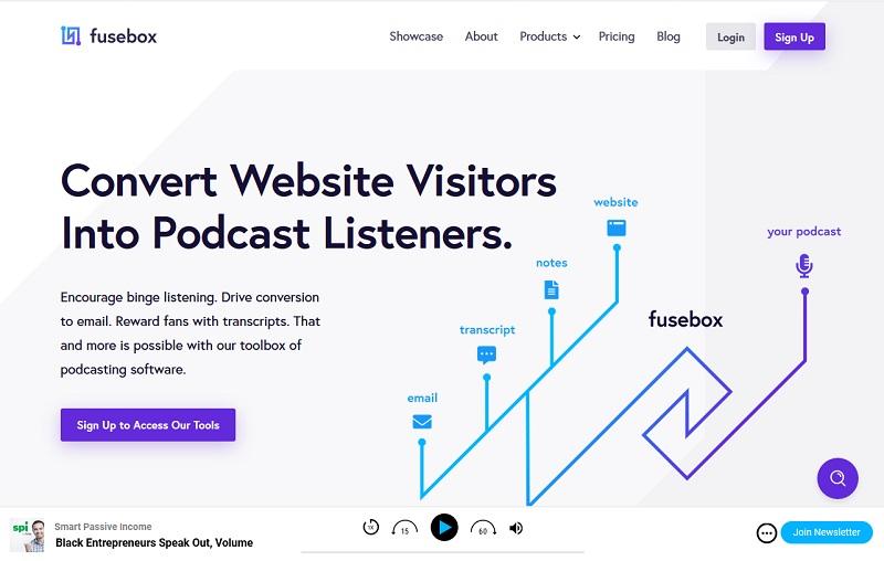 Fusebox Podcast Hosting