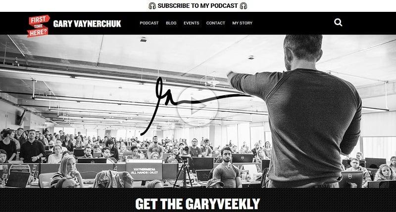 Gary Vaynerchuk paid speaker