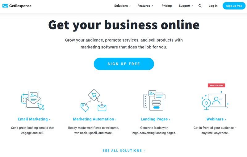 GetResponse - email marketing software