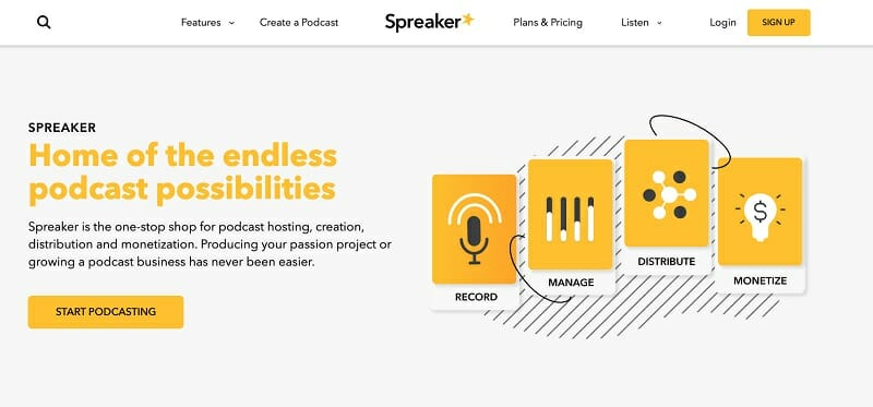 Spreaker.com - Home of the endless podcast possibilities