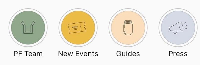 Instagram - highlights