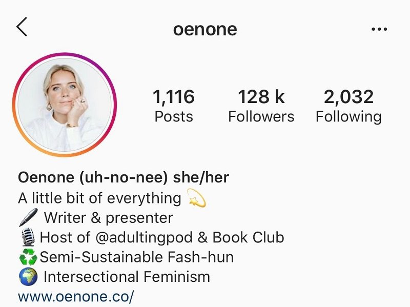 Instagram - oenone