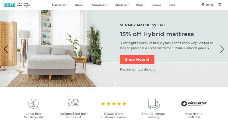 Leesa - ecommerce success story