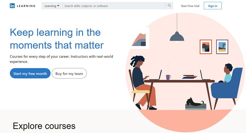 Linkedin Learning - online learning platform