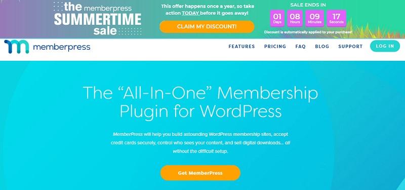 Memberpress memership site WordPress plugin