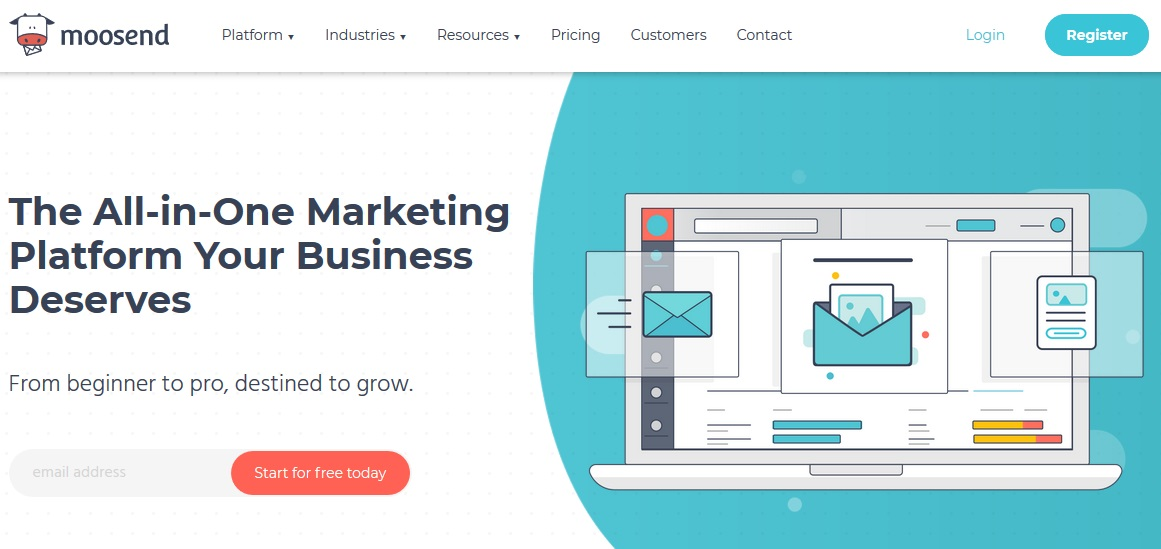 Moosend - email marketing software