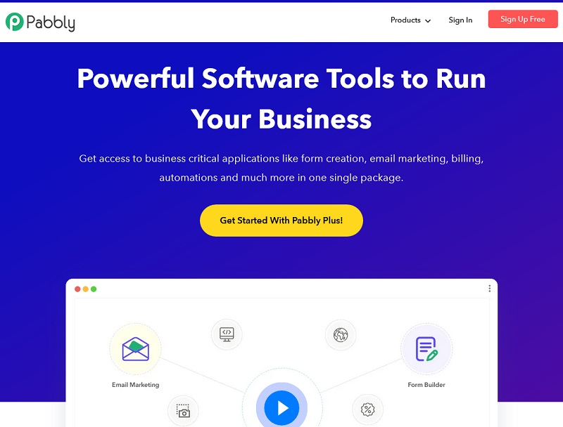 Pabbly - email marketing software