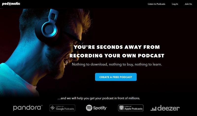 Podomatic Free Podcast Hosting