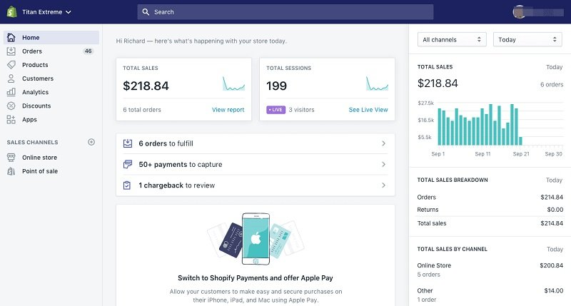 Use Shopify for making money on Instagram