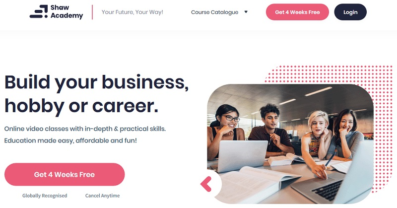 Shaw Academy - Build your business, hobby or career