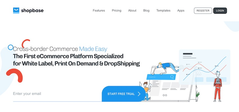 Shopbase on-demand ecommerce platform