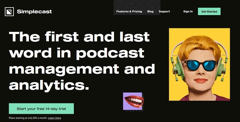 Simplecast Podcast Hosting Site