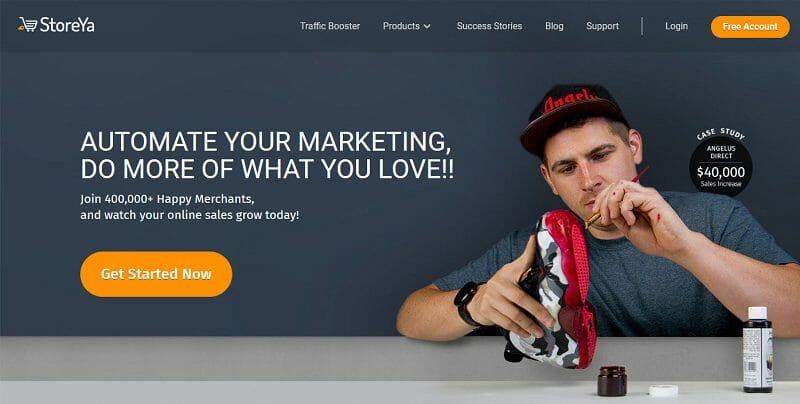 StoreYa - homepage