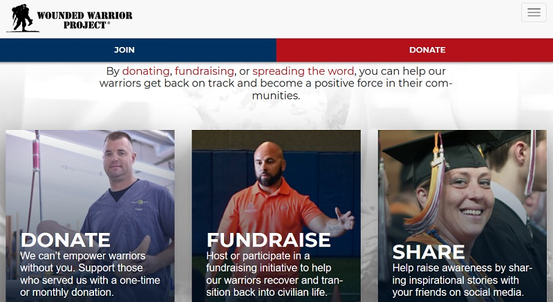 Wounded Warrior Project making money with donations