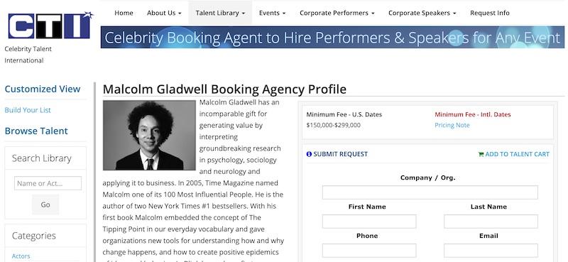 malcolm gladwell agency