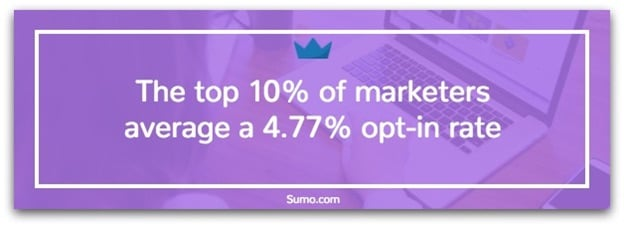 sumo opt in rate