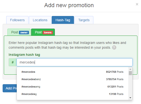 BBGR promotion hashtag generator