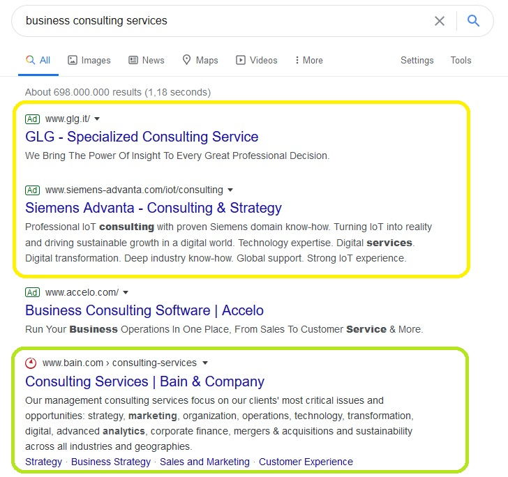 Business consulting services - google search