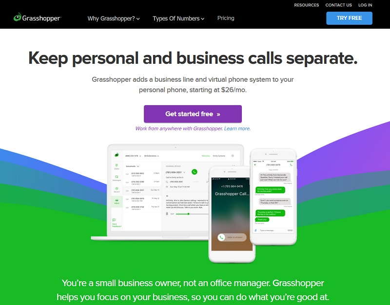 Grasshopper - homepage