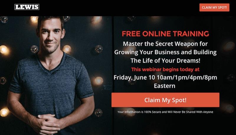 LEWIS - free online training