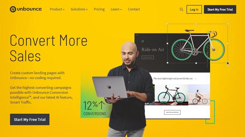Unbounce - sales conversion software
