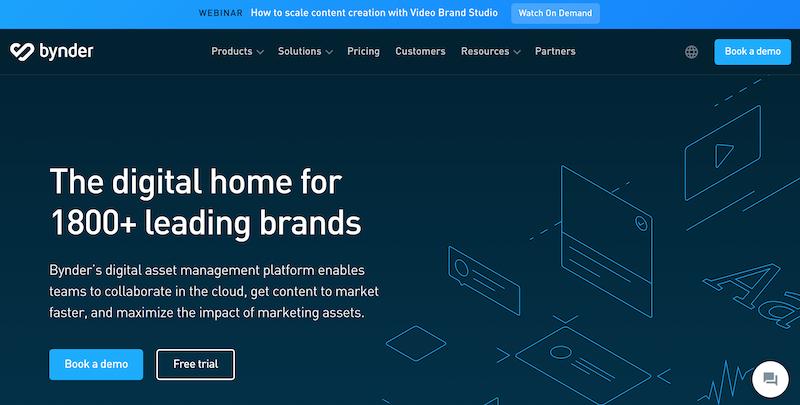 bynder digital asset management platform