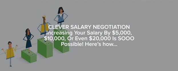 clever salary negotiation headline