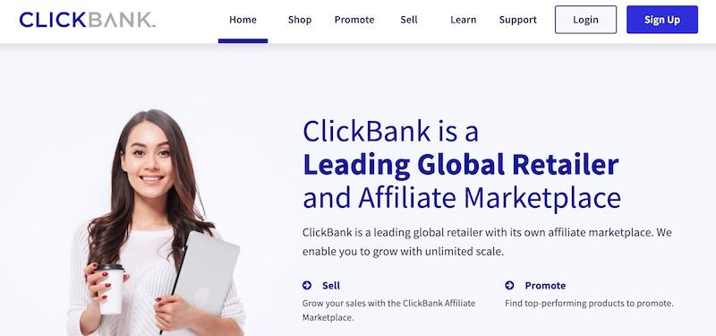 ClickBank affiliate program to earn money on YouTube