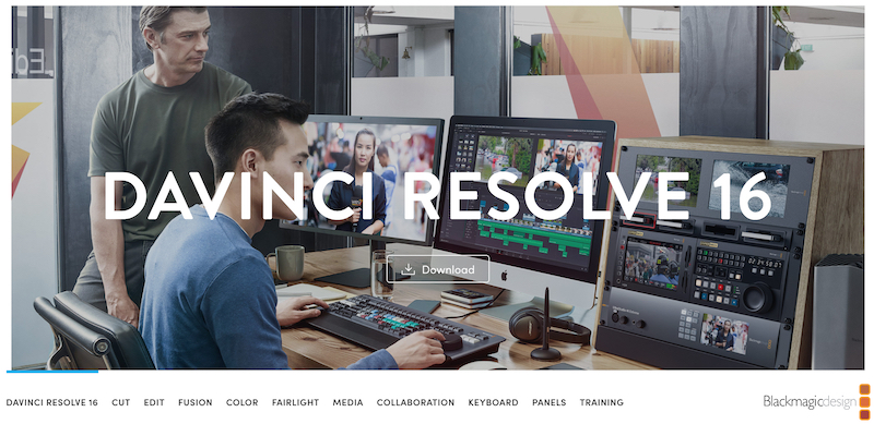 davinci resolve video editing for large scale productions