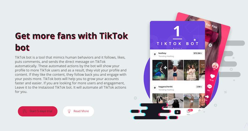 instazood TikTok bot