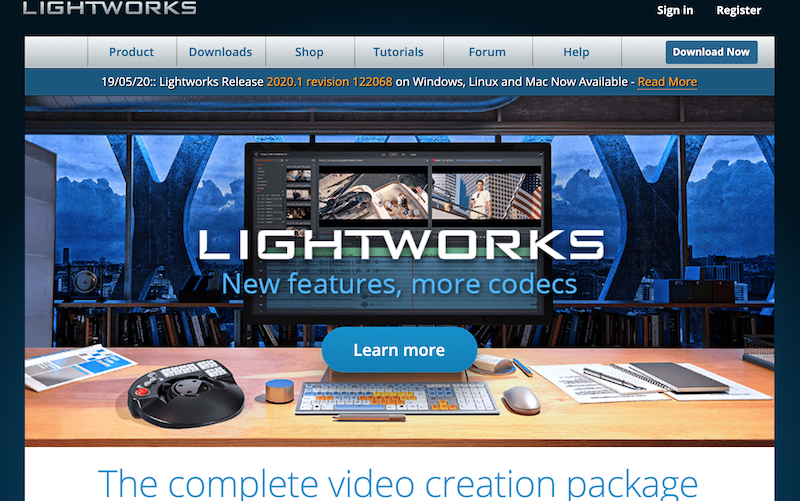 Lightworks video editing software for all operating systems