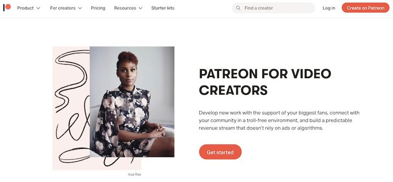 patreon for monetizing your YouTube channel
