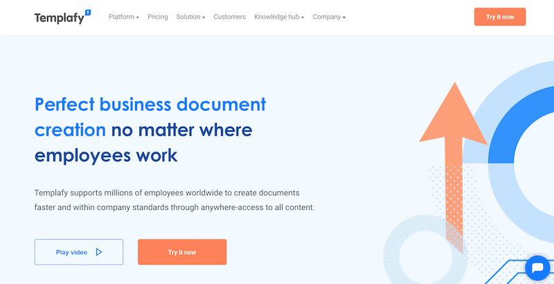 templafy document management software