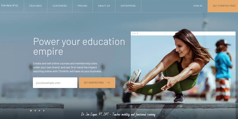 Thinkific - Power your education empire