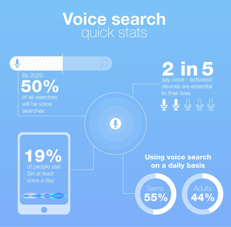 voice search statistics and optimization