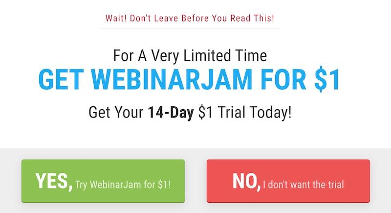 webinar jam checkout